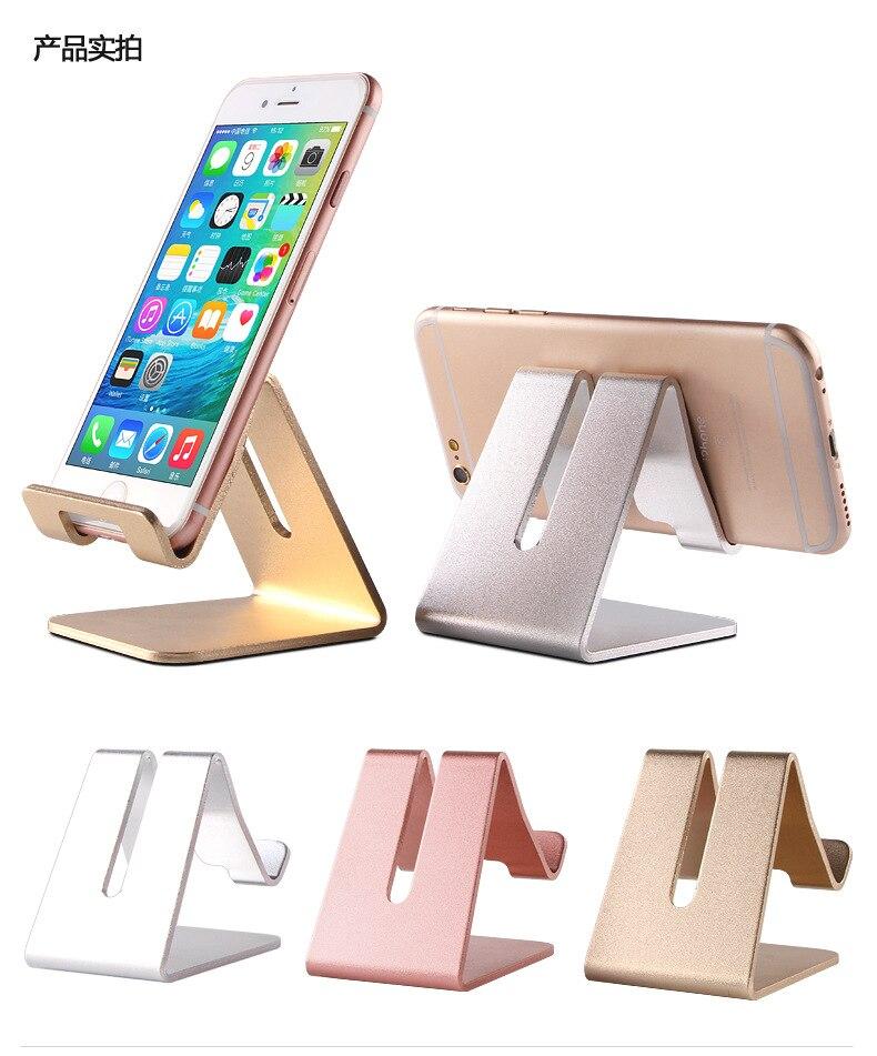 Soporte soporte teléfono móvil accesorio soporte escritorio stents de mesa para iPhone 6S Samsung huawei explay