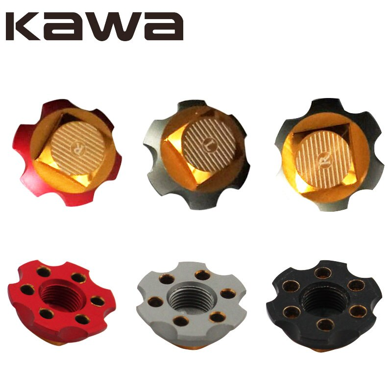 KAWA Fishing Reel Nut , Left and Right Hand Screw Cap for fishing reel, Screw Cap for Daiwa  ABU Reel enlarge