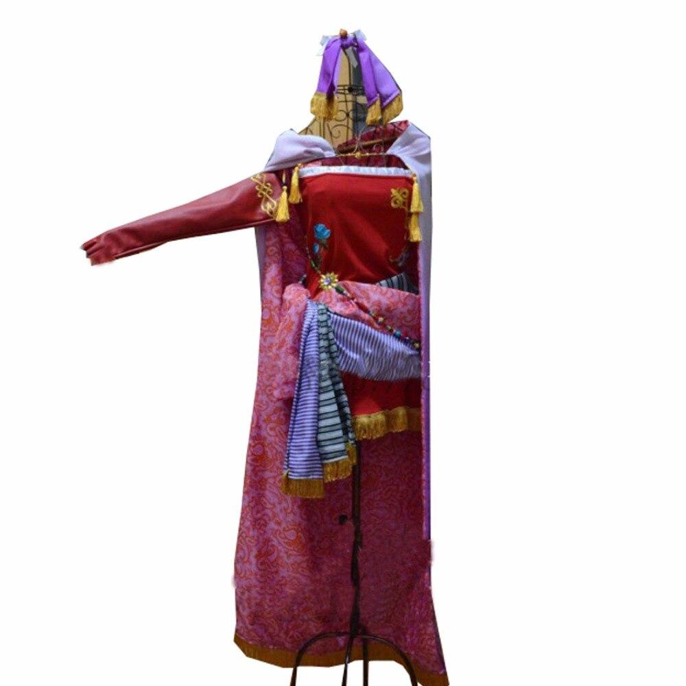 Disfraz de Cosplay de Terra Branford de Finatal Fantasy VI, traje de Cosplay de Tina Branford, 2017