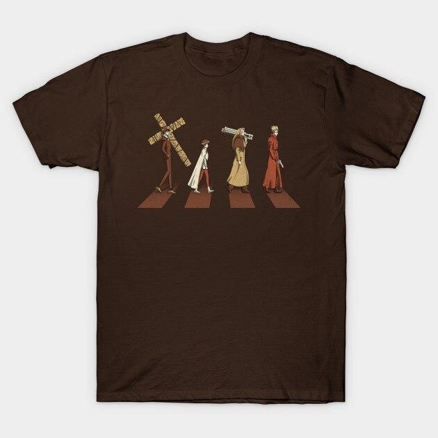 Мужская футболка с коротким рукавом Stampede Trigun, женская футболка