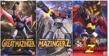 Original gran MAZINGER Z GETTER 1 REIDEEN figura juguete mecánico pvc kit de modelo de ensamblaje