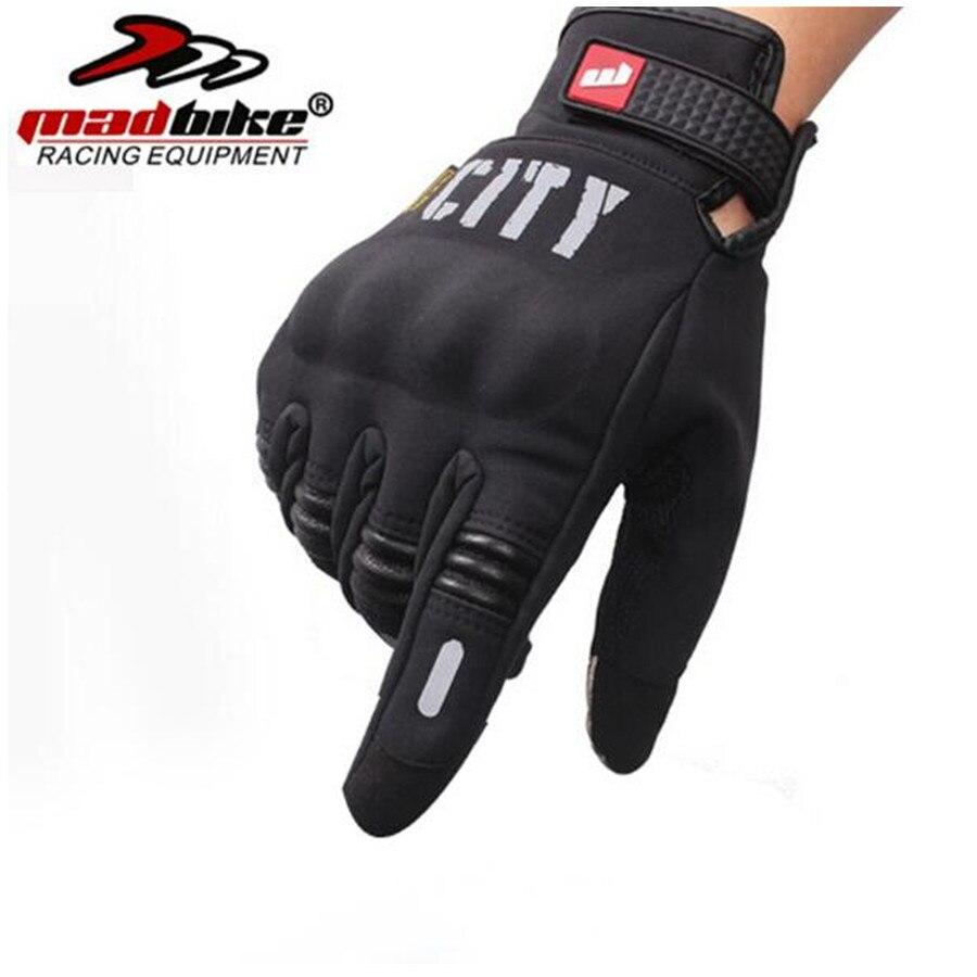 MADBIKE Moto rcycle guantes de carreras de moto Cruz moto rbike guantes de pantalla táctil M ~ XXL