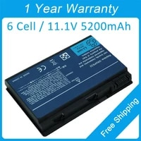 New 5200mah laptop battery CONIS72 GRAPE34 BT 00605 025 for acer TravelMate 7720 7220 6592 6552 6460 7320