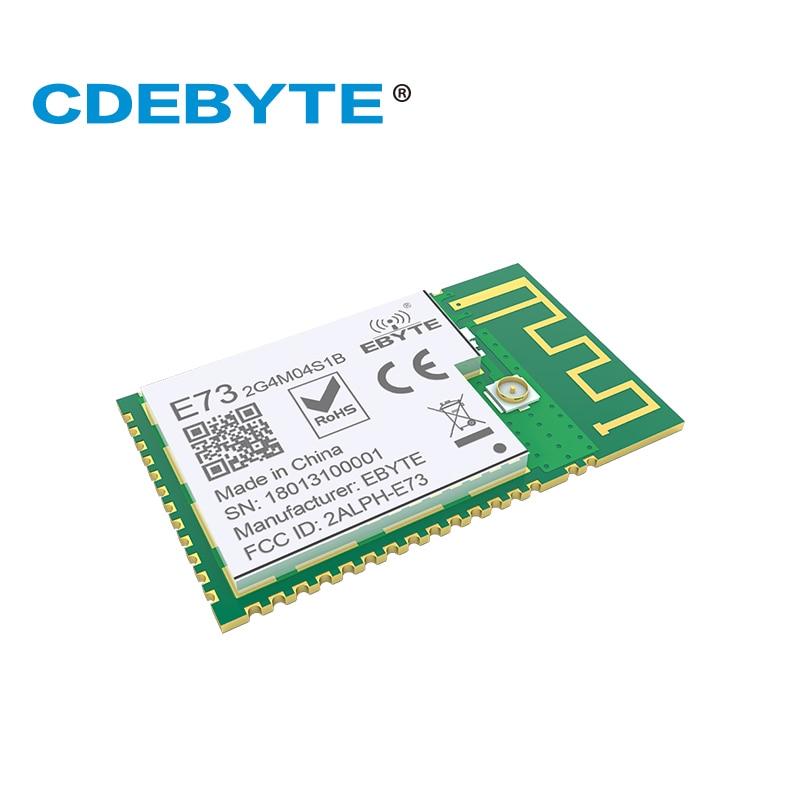 10 Uds./lote nRF52832 transmisor Reciever BLE 5,0 2,4 GHz E73-2G4M04S1B PCB conector IPEX Bluetooth Módulo de transmisión inalámbrica