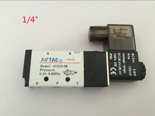 Électrovanne électrique Airtac 5 voies 2 positions   4V210-08 DC 24V DC12V AC110V AC220V 1/4