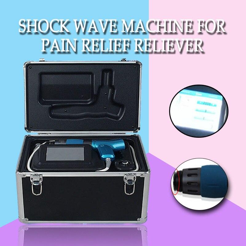 Terapia de ondas de choque acústico de la onda de choque terapia de dolor físico relife sistema tratar el dolor en las articulaciones