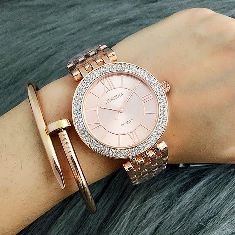 Luxus silber frauen uhren elegante kleine armband weiblichen uhr 2020 BGG mode marke römischen zifferblatt retro damen armbanduhren geschenk