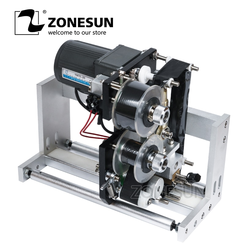 Zonesun Expiry Date Ribbon Coding Label  Printer Hot Ribbon Coder For LT-50 Labeling Machine