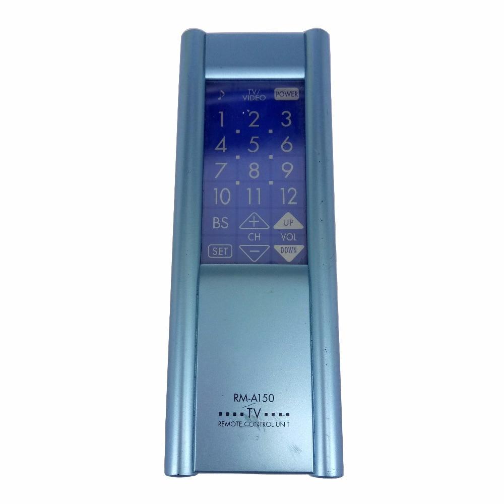 Бывший в употреблении оригинальный для Victor TV Remote control RM A150 RMA150 remote for tv remotes tvtv remote  