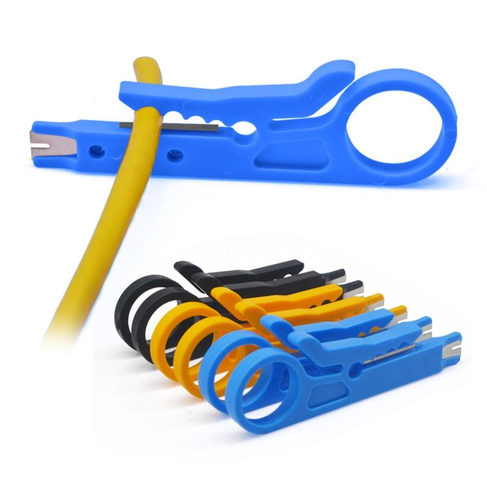 Портативный нож для зачистки проводов щипцы для обжима Инструмент для зачистки кабеля инструмент для зачистки нескольких инструментов кар...