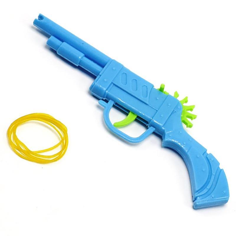 Классический мини-пластиковый пистолет с резиновой лентой, 1 шт., ручной пистолет, пистолет для стрельбы, детские игрушки для мальчиков, ...