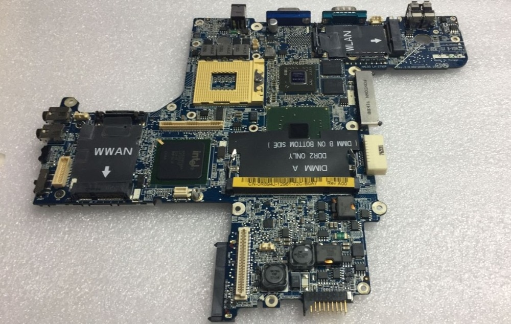 HAL00 LA-2792P для Dell D620 материнская плата для ноутбука 945GM DDR2 CN-0XD299 0XD299 тест 100%