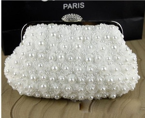 2016 Real Frame Day Clutches Clutch Bags Handbags Women Famous Brands Bolsa Feminina Women's Hot Selling Pearl Cluth Evening Bag