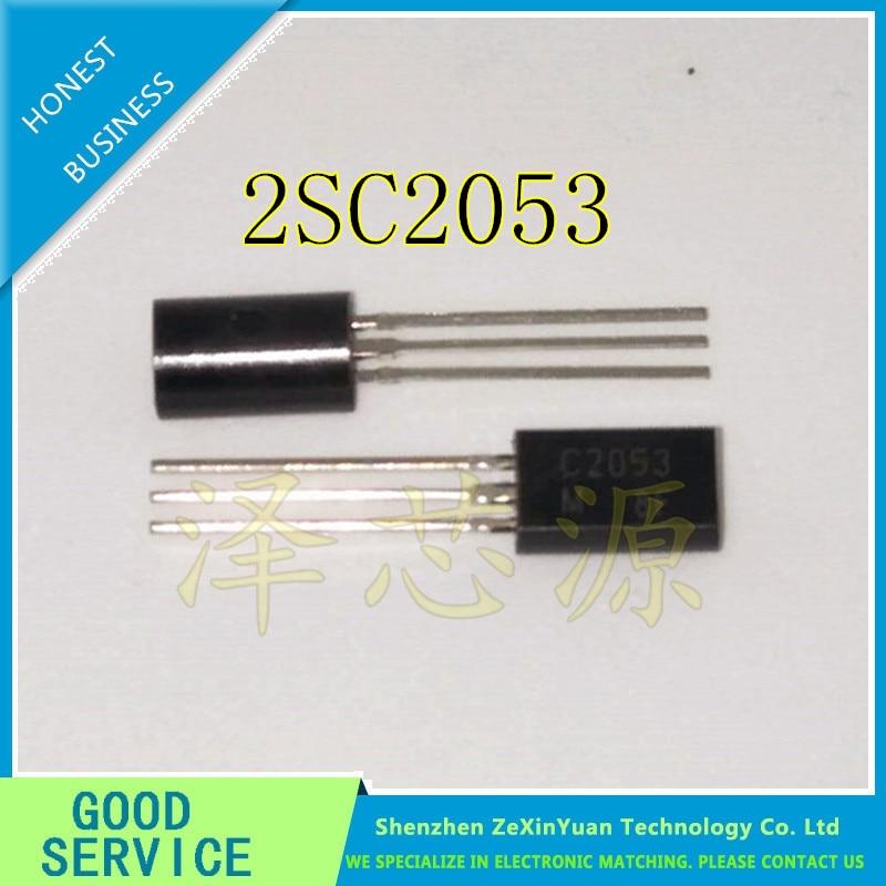 Бесплатная доставка 10 шт. 2SC2053 C2053 TO-92 Новинка