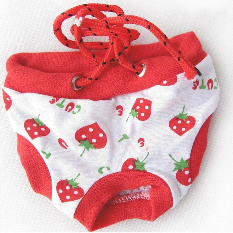 Filhote de cachorro cuecas sanitárias shorts pet cão inverno higiene fralda roupa interior do cão calcinha fisiológica para teddy chihuahua yorkie 9dy20