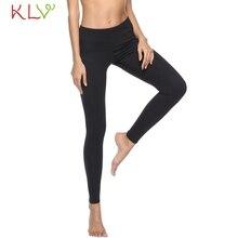 Legging Fitness femmes Push Up Sport solide Leginy taille haute Leginy Leggings dentraînement Leggins Mujer Pantalon Pantalon grande taille 19F28