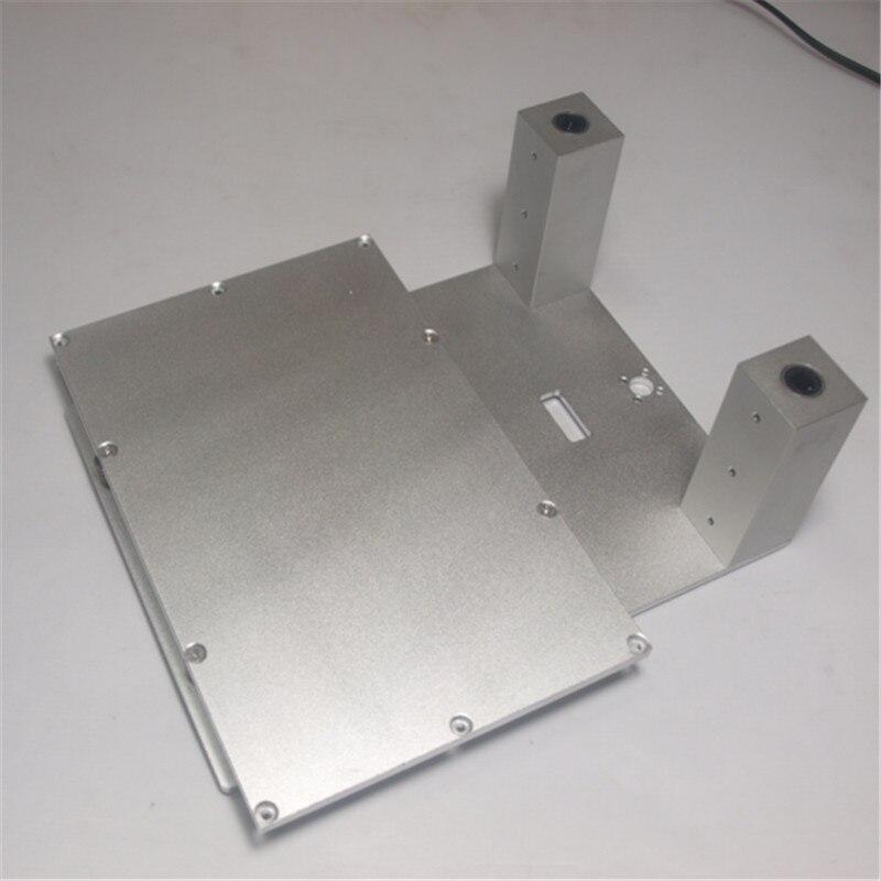 Funssor 3dp-aluminum-upgrade-parts Comité replicador Flashforge replicador Z atage de kit de cama Z aixs construir la plataforma de juego