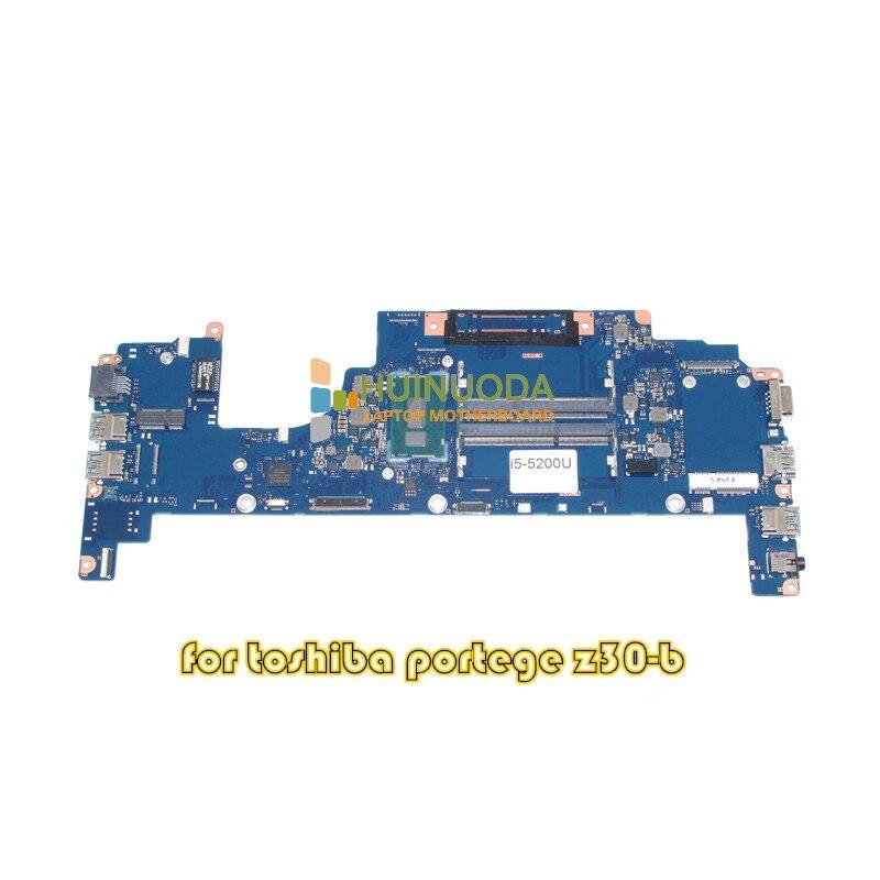 Placa principal NOKOTION FUX2SY1 A3927A para toshiba Portege Z30 Z30-T placa base portátil SR23Y I5-5200U CPU integrada