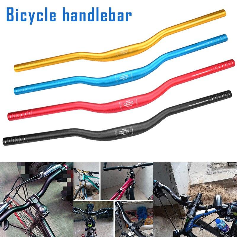 Nuevo manillar de bicicleta de montaña de aleación de aluminio manillar de bicicleta de carretera multicolor FMS19
