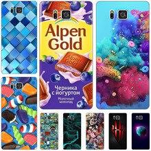 Coque arrière de téléphone étui pour Samsung de la galaxie Note 5 Coque dimpression pour Samsung Galaxy Note5 Note 5 N9200 N920 N920F sacs