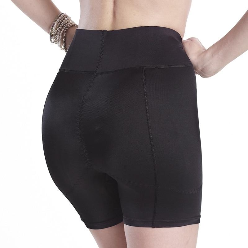 LIZ Lady Butt Lifter Hip Enhancer Underwear Padded Panties Abundant Buttocks Knickers Shemale Lingerie Breast Forms Black Size L