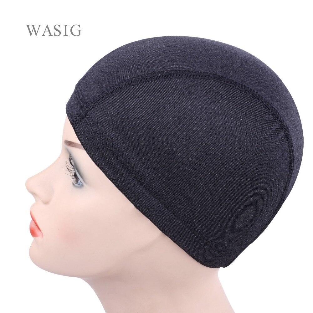 5 unids/lote Dom cap gorra de malla, gorra de peluca para hacer pelucas, gorro tejido de red, nailon elástico, malla transpirable, redes para el cabello