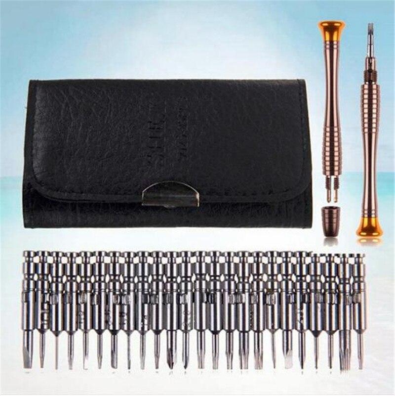 Conjunto de herramientas de reparación, herramientas de mantenimiento para ordenadores portátiles, juego de destornillador Torx 25 en 1, ayuda a la mano, Kit de reparación de teléfonos.