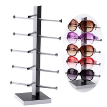Nouveauté présentoir en bois pour lunettes de soleil 3D verre 5 vice lunettes présentoir support/étagère assemblage livraison directe