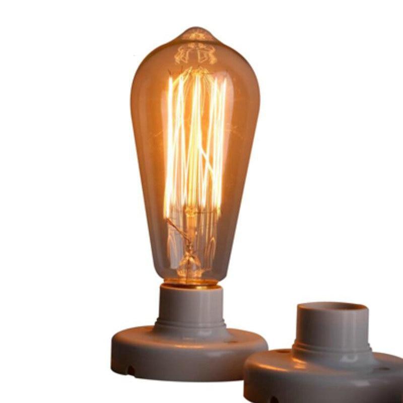 Retro Edison bulbs Incandescent Vintage Lights 60W 220V Retro Edison Art Decoration ST64 Light Bulb E27 Wholesale Price