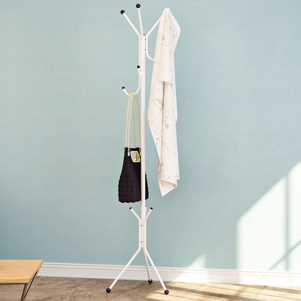 Perchero metálico de hierro forjado para dormitorio perchero metálico para abrigos de pie, perchas creativas de moda para ropa, perchas para toalla wx8300917