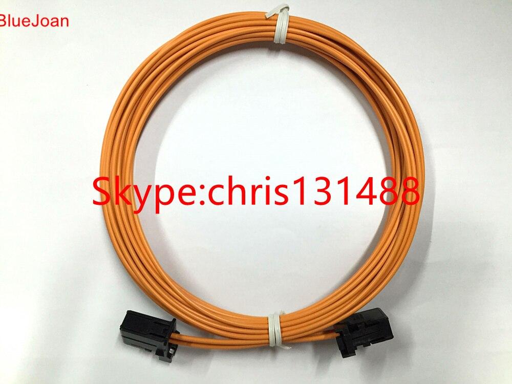 La mayoría de los conectores de Cable de fibra óptica macho a macho para Audi BMW mercedes etc. 90 CM-100 CM nuevo Original