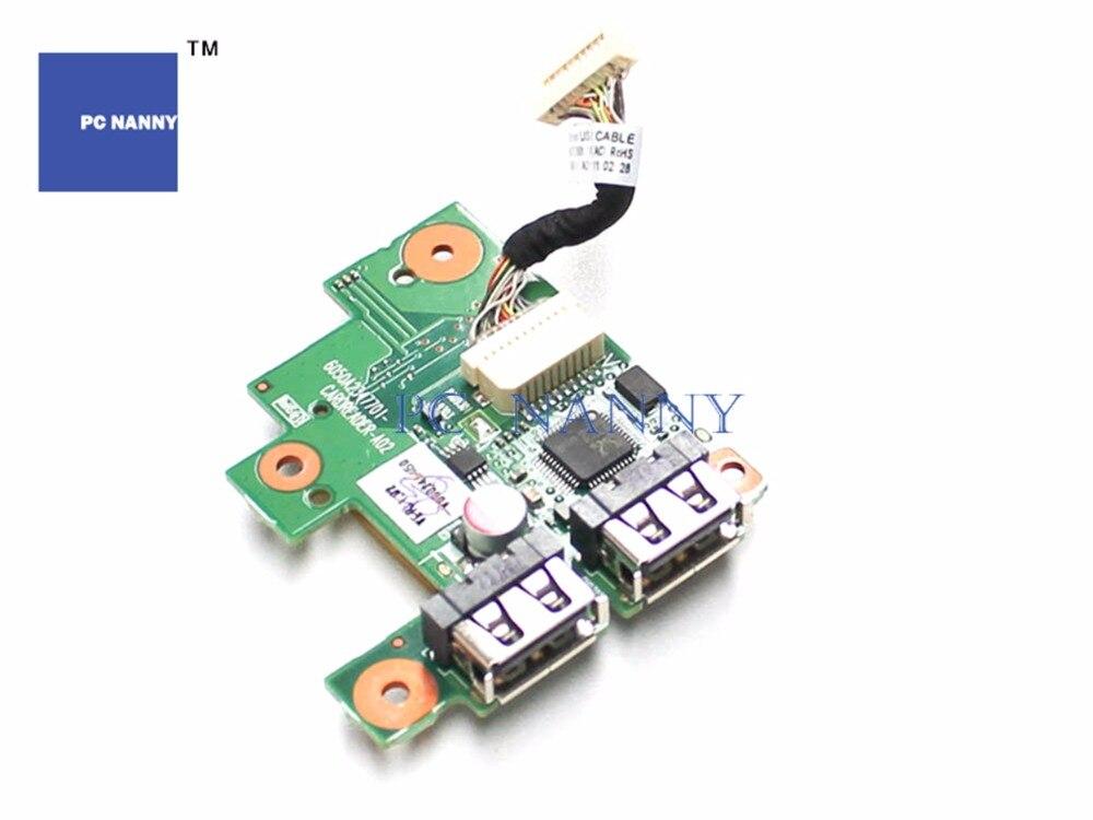 PC NANNY para Toshiba Satellite Pro L630, lector de tarjetas MultiMedia, tablero USB con Cable V000240450 funciona