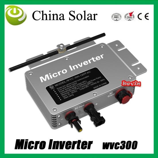 WVC300 inversor SOLAR MICRO rejilla con onda sinusoidal pura