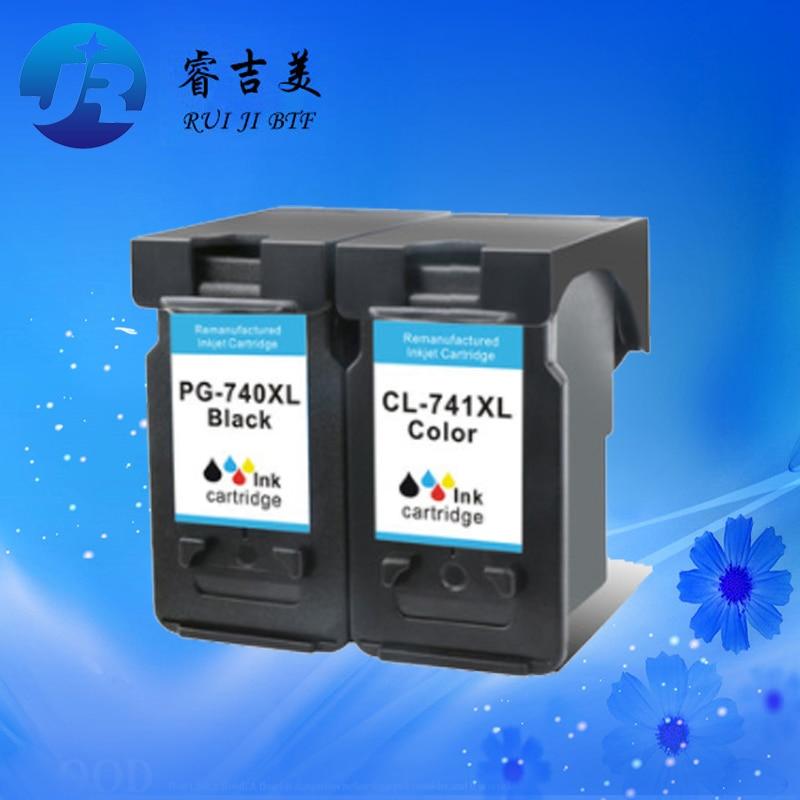 Alta calidad PG-740XL CL-741XL nuevo cartucho de tinta compatible para Canon MG2270 MX377 de gran capacidad (fácil añadir tinta)