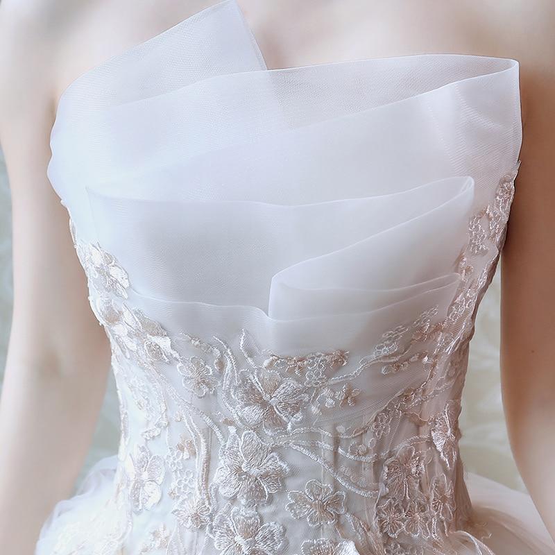 Vestido De princesa De lujo con encaje bordado, traje De novia largo,...