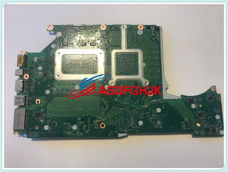Para Acer Predador Helios 300 17.3in PH317-51 motherboard i7 7th GTX1060M 100% TESED OK