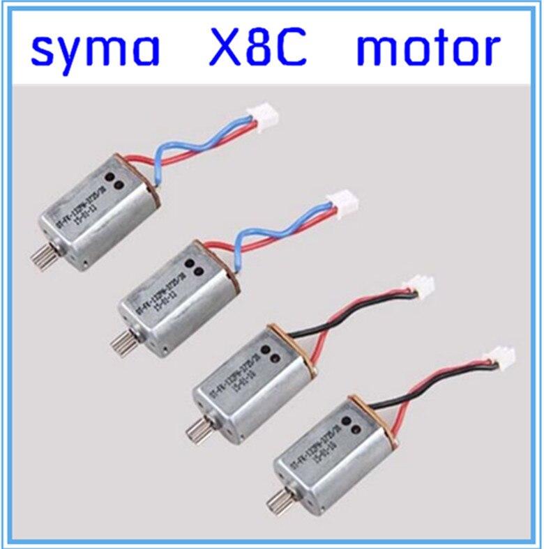 Original Syma X8C X8W motor 2CCW 2CW spare parts X8C-10-11