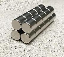 Petits disques cylindre rond   100 pièces, 9mm x 10mm aimants néodyme de terre Rare, N50 9*10mm 9mm * 10mm