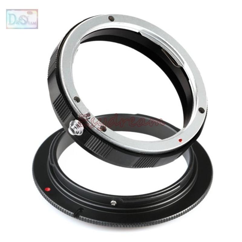 Кольцевой адаптер для обратного макросъемки EOS-58mm + защитное кольцо 58 мм для объектива Canon EOS EF EF-S