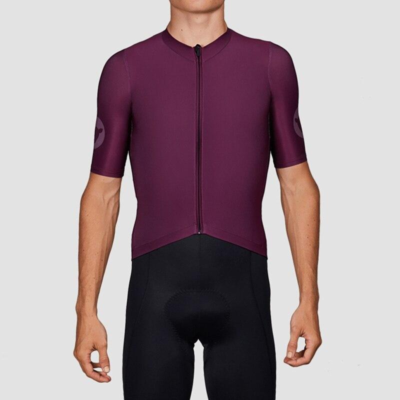 ¡Novedad de 2019! JERSEY de ciclismo ligero para equipo profesional, tejido elástico de alta calidad, Lycra PRO race fit, envío gratis