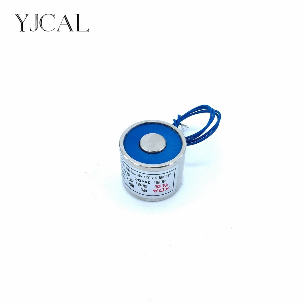 YJ-30/25 אחזקות אלקטרומגנט פרייר חשמלי מגנט ההרמה גלילי יניקת כוס Dc 12 V 24 V 10 KG גליום מתכת סין