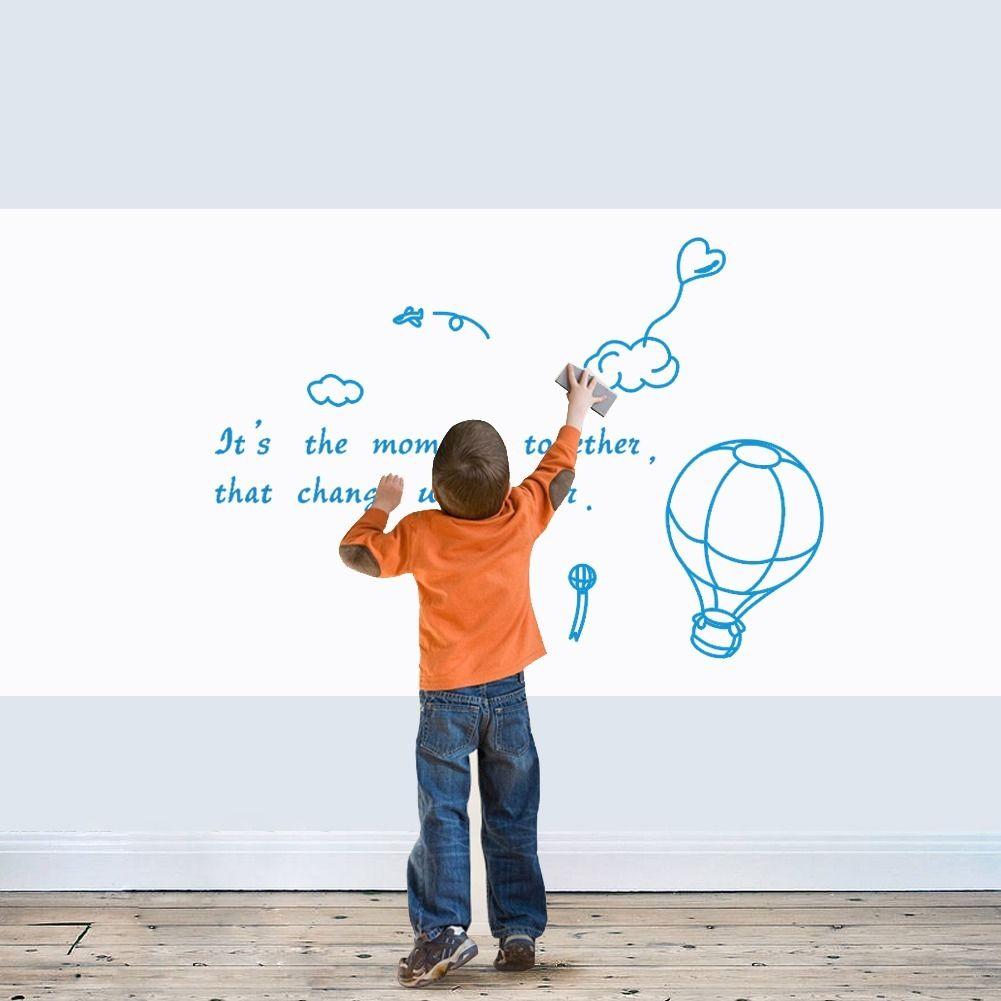 2015 pizarra extraíble vinilo pizarra pegatina de pared pizarra calcomanía de pared para niños pintura decoración del hogar papel de pared