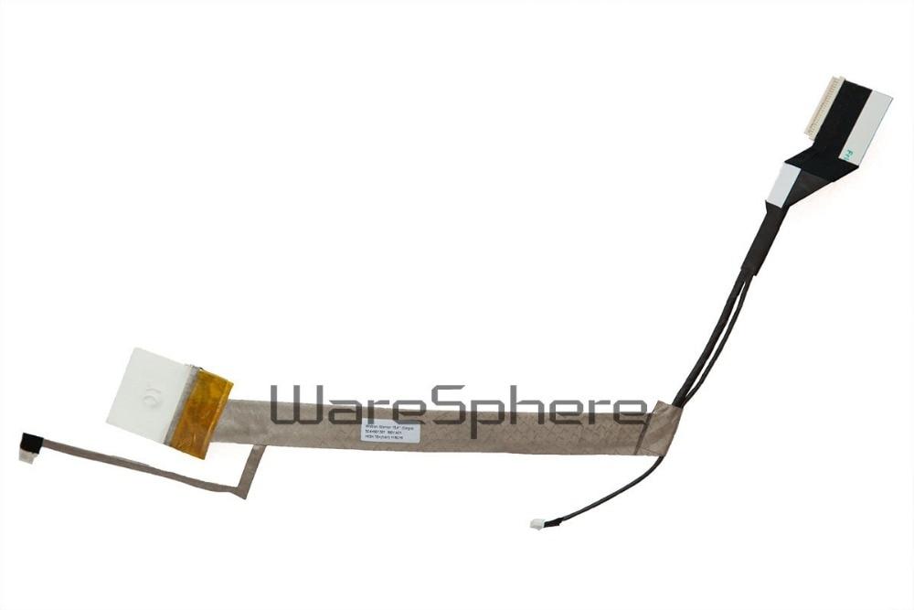 Новый ноутбук ЖК-светодиодный LVDS видео гибкий кабель для HP Compaq Presario CQ50 CQ60 экран видео кабель 50.4H507. 001