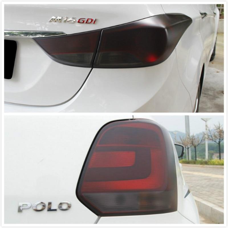 Автомобильная противотуманная фара Тонирующая пленка наклейка для VW POLO Golf 4 5 6 7 GTI Passat b5 B6 JETTA MK5 MK6 CC EOS Touareg Beetle