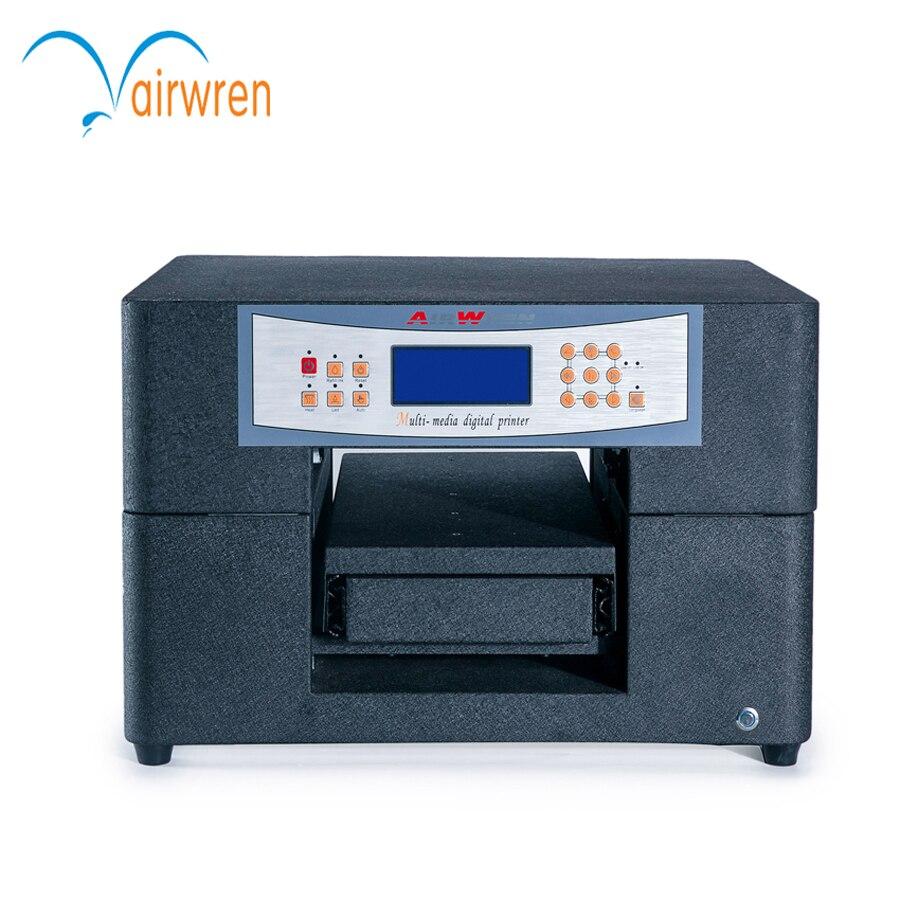 Impresora UV de inyección de tinta CISS multifunción A4 de alta eficiencia para carcasa de teléfono