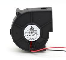 Ventilateur de refroidissement, pour projecteur, turboventilateur, 75*75x30mm, delta BFB0712H 7530, 12V 0.36A