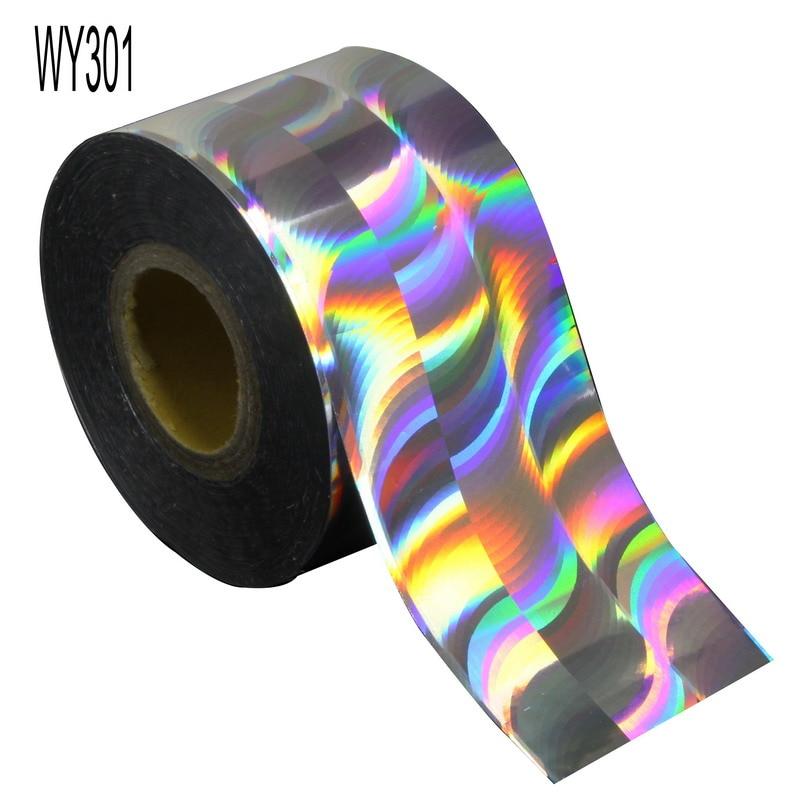 Elessical 120m * 4cm divers modèles rouleau de feuille dongle caméléon coloré transfert autocollants holographique Nail Art décalcomanies pour manucure