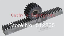 CNC Rack Gear Mod 1.5 45 # Steel Spur Gear 20x20 Lengte in 1000mm tandheugel