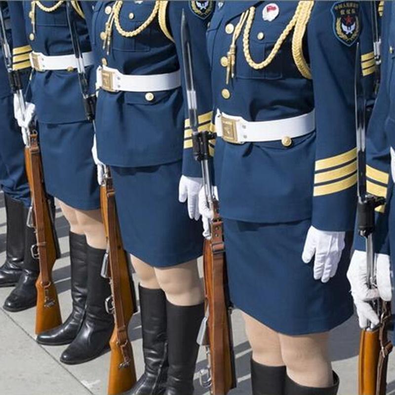 1 par guante blanco Formal capitán payaso mago esmoquin elegante desfile de la Guardia de Honor Santa hombres inspección guantes de protección para manos guan