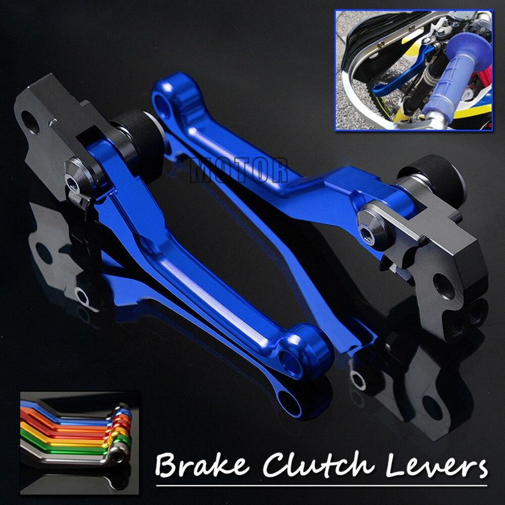 Motorcycle CNC Pivot Brake Clutch Levers For Sherco SEF-R 450 2014-2018 2015 2016 2017 SEFR450 SEFR SEF R Motorcross Dirt Bike